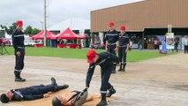 Les exercices des Jeunes Sapeurs Pompiers
