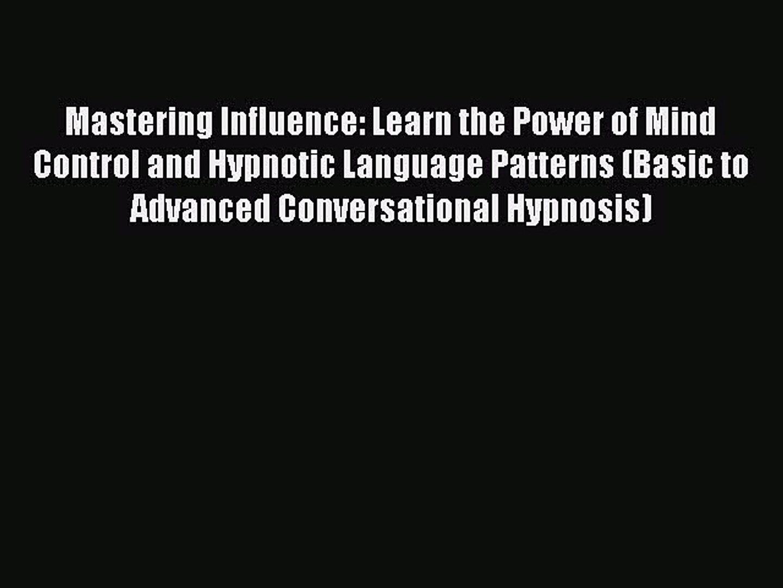 Mind Control Language Patterns