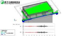 福島原発事故: 地震時における使用済燃料プール水のスロッシング解析映像