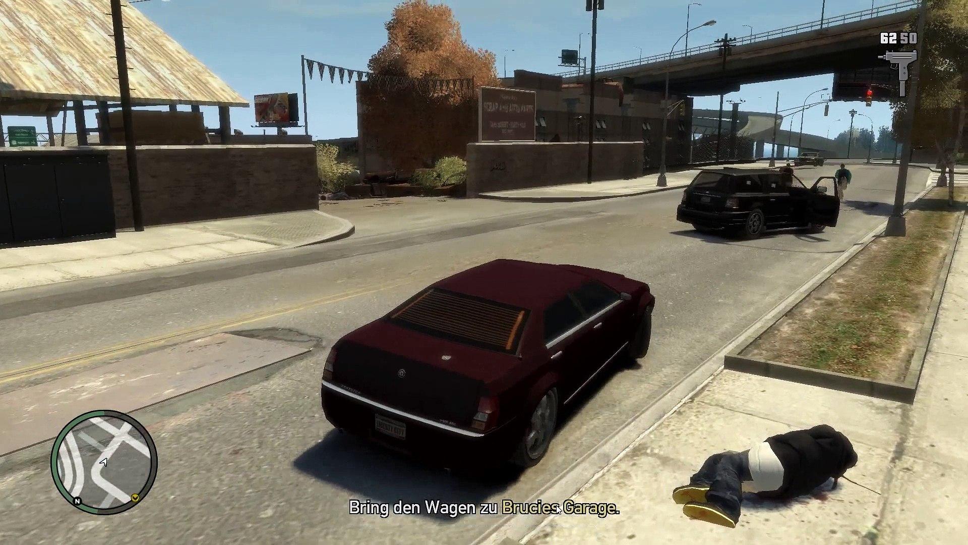 GTA IV Stealing a car for Brucie (GTA IV gameplay by BurnTyre Films)