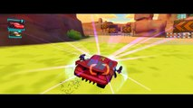 CARS 2 - Disney Pixar Cars Lightning Mcqueen ! with Tow Mater Francesco Bernoulli - Race