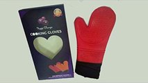 ' Happi Champs ' Cooking Gloves - Heat Resistant Silicone Multi Purpose Gloves.