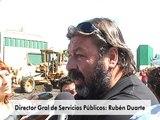 Obras de bacheo y entubamiento en Camino Gral Belgrano - 26-3-2012