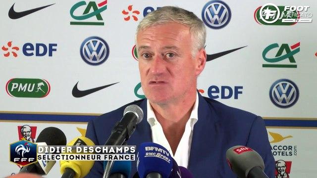Equipe de France : la réaction de Didier Deschamps