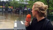 Radio Tongossa Inondations ville de Melun dans le centre ville le vendredi 3 juin 2016