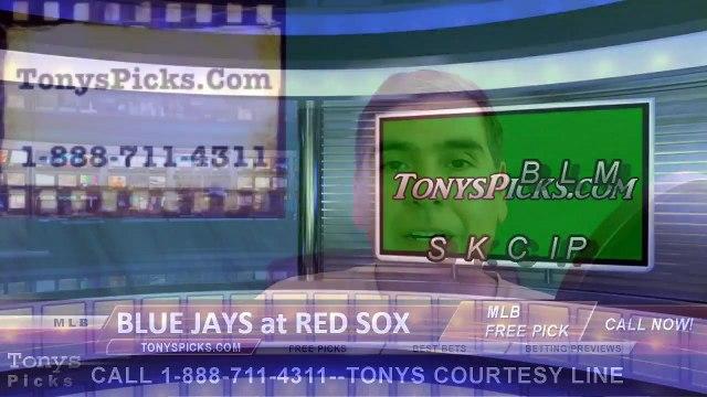 Toronto Blue Jays vs. Boston Red Sox Pick Prediction MLB Baseball Odds Preview 6-3-2016