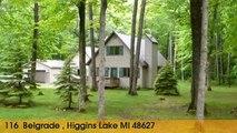 Home For Sale: 116  Belgrade  Higgins Lake, Michigan 48627