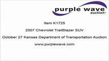 2007 Chevrolet TrailBlazer SUV for sale   sold at auction October 27, 2015