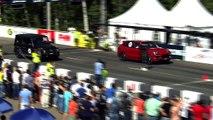 Mercedes-Benz G 63 AMG vs Porsche Cayenne Turbo S [DRAGTIMES]