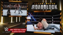 WWE Network- Brock Lesnar vs. Bray Wyatt & Luke Harper - 2-on-1 Handicap Match- WWE Roadblock 2016