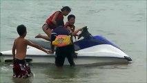07-20-2011 芭達雅--水上摩托車(小朋友自己騎)