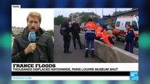 Donald Trump France Floods; River Seine Keeps Rising In Paris, Louvre Museum 2016