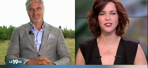 Pour la 1ère fois après son arrêt cardiaque David Ginola est à la télévision dans le JT de M6