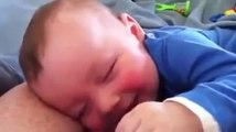 Cute Babies Laughing While Sleeping 2015 - Funny Dogs and Babies - Cute Dogs And Adorable Babies