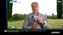 David Ginola : Ses premiers mots à la télévision depuis son malaise cardiaque, je reviens de très loin (Vidéo)