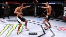 EA Sports UFC 2 Anthony Pettis vs Donald Cerrone Online Ranked Match