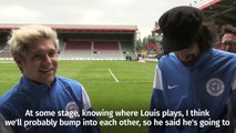 Soccer Aid 2016 - Niall Horan v Louis Tomlinson in 1D face-off