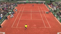 #RG16 : la balle de match victorieuse de Geoffrey Blancaneaux dans le tournoi juniors de Roland-Garros