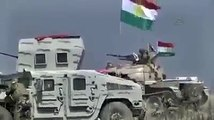 Peshmerga explodes IS Iblis State VBIED near (Khazir Mosul)