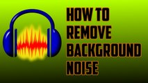 how to remove background noise from mic - video dailymotion