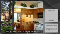 CANOE 7912 Lane, Las Vegas, NV 89145