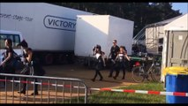 BABYMETAL & Kami Band Leaving After the Performance @ FortaRock 2016