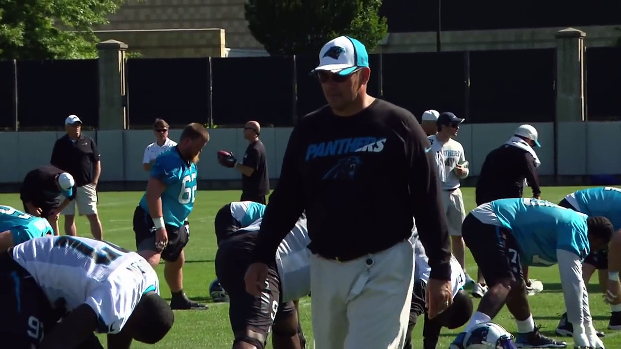 Carolina Panthers OTA Highlights NFL