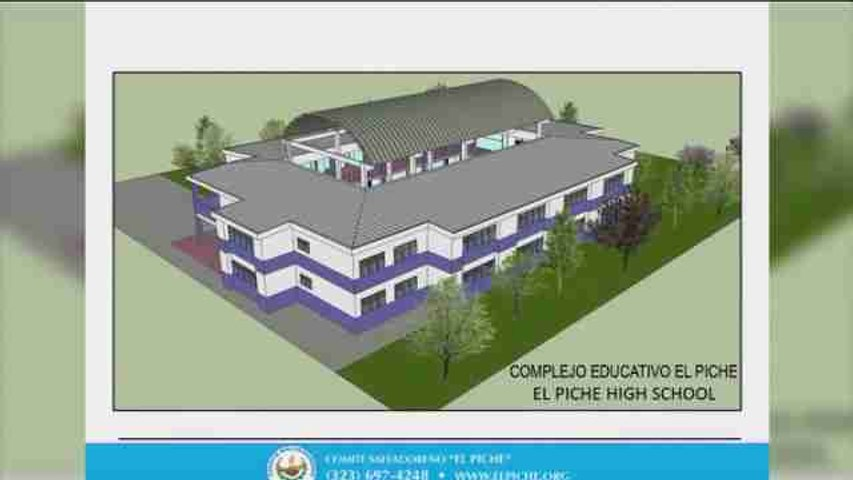 Salvadoreños en EEUU recaudan fondos para construir una escuela en su país