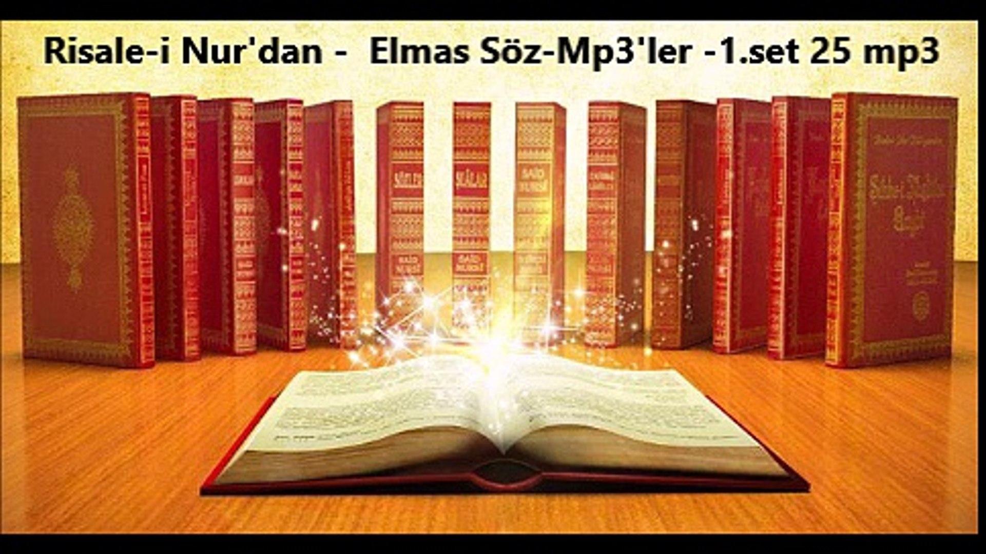Risale-i Nur'dan -  Elmas Söz-Mp3'ler -1.set 25 mp3