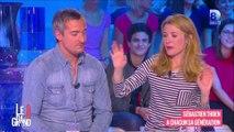 """""""On voit le kiki"""" Elisabeth Bost amuse le plateau du Gd 8"""
