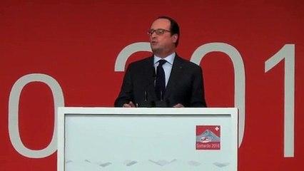 Quand François Hollande blague sur la grève des transports