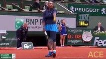 Serena Williams vs Magdalena Rybarikova - 2016 24-MAY tennis highlights HD