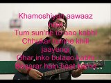 Khamoshiyan Song with Lyrics (Arijit Singh)   Khamoshiyan Hindi Movie Song