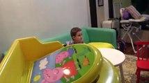 Peppa Pig Troninho Cocô de Massinha Play Doh Surpresas Minecraft Frozen Homem Aranha Surprise Eggs