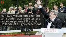 Loi Travail : Mélenchon s'en prend à Macron, Hollande et Valls qui «ne comprennent rien»