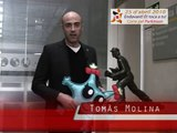 Tomàs Molina, home del temps de TV3, et convida a córrer pel Parkinson el 25 d'abril