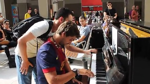 homme piano