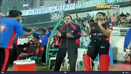 watch Shahid Afridi Last Over 3 Balls & 8 Runs need to Win - T20 BPL Cricket Match 2015