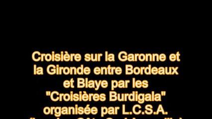 croisière fluviale Bordeaux Blaye 03 06 2016
