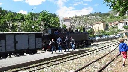 """Le """"Train des Pignes"""" le 15 mai 2016"""