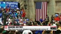 Hillary Clinton has enough delegates to become Democratic nominee: AP