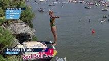 Adrénaline - Tous sports : RedBull Cliff Diving 2016, Rhiannan Iffland remporte la victoire du côté des femmes
