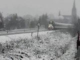 """""""Wiosenny"""" poranek na linii 25 24.03.2008"""