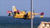 incendio portman hidroaviones anti-incendios mar menor 19-8-2011.wmv