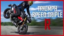 Speed Triple R : Triumph fait aussi des motos pour HOMMES
