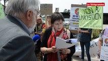 Vannes. 60 personnes manifestent contre les compteurs Linky