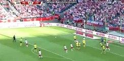 Kamil Grosicki incredible MISS - Poland 0-0 Lithuania - 06-06-2016