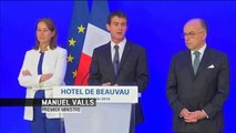 """Inondations : M. Valls annonce un """"fonds d'extrême urgence"""" alloué aux victimes - Le 06/06/2016 à 19:30"""