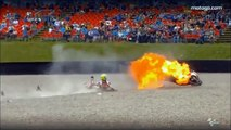 Videos Crash MOTO GP Compilation - Videos Amazing Crash Best Moment