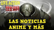 Fullmetal Alchemist Live Action Cast del Film, Rosa Salazar sera Gally en GUNNM y Mas NOTICIAS Anime